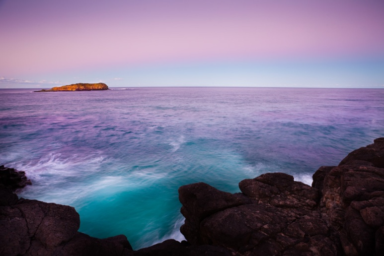 Cook Island from Fingal Head