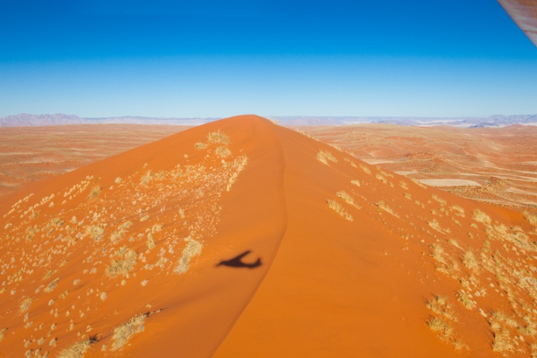 Areal View, Namibian Dunes, Africa