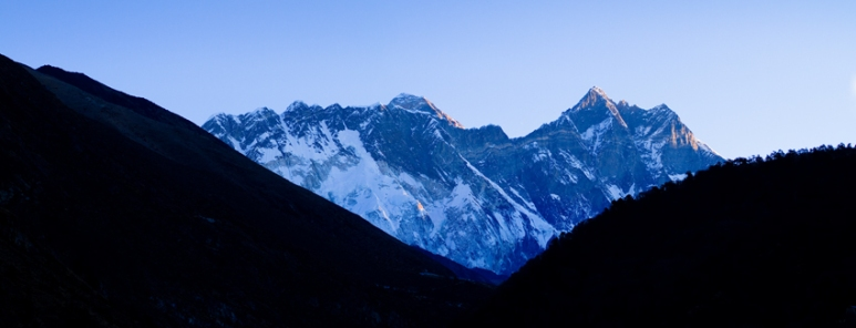 View of Everest from near Thangboche Monastry